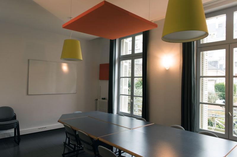 Les espaces de travail du Hameau st Michel à Tours