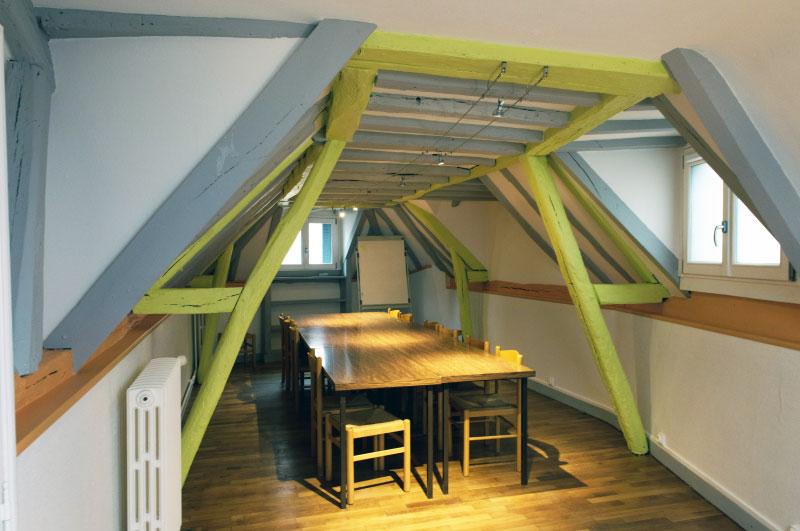 La salle de travail du Hameau à Tours (37)