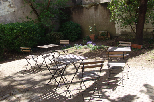 Terrasse du Hameau Saint-Michel à Tours (37)
